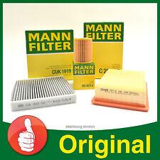 MANN FILTER SET Filterpaket Luftfilter + Ölfilter + Akitvkohle Pollenfilter