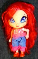 """Used Winx Club Pop Pixie Amore 5"""" Doll Figure Barbie Fairy DVD Toy Play Set"""