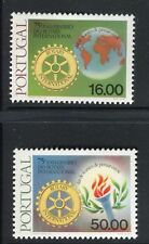 PORTOGALLO PORTUGAL 1980 ROTARY INTL 75th ANN/ORGANIZATION/EMBLEM/TORCH/GLOBE