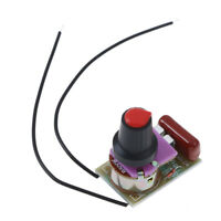 100W dimmer module diy kit with switch potentiometer speed regulation moduTE
