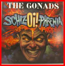 "THE GONADS - SHIZ-OI-PHRENIA 12"" LP + IS (B513)"