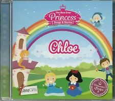 CHLOE THE BEST EVER PRINCESS SONGS & STORIES PERSONALISED CHILDREN'S CD