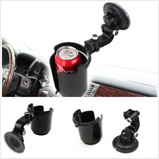 Adjustable Black Portable Car Vehicle Drinks Holder Coffee Cup Bottle Organizer