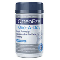 OSTEOEZE ONE-A-DAY GLUCOSAMINE SULFATE 1500MG 120 TABLETS VEGAN FRIENDLY JOINTS