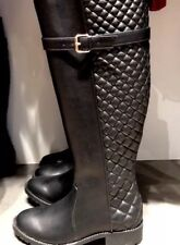 Zara Quilted SiZE 5 Knee BOOT Black