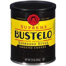 Cafe Bustelo Espresso Ground Coffee Can 10 Oz. Black Label Restaurant Style 2021