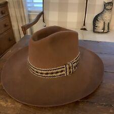 RARE Vintage LEE~ Brown Perma Felt Western Cowboy Hat~ EVC
