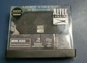 Altec Lansing Mini H20 imw257-blk Rugged Bluetooth Speaker
