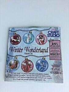 My Craft Studio Winter Wonderland Volume 1 Papercrafting CD ROM