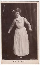 Its A Boy RP PPC, Birth Announcement, 1911 Colne PMK, By Rotary