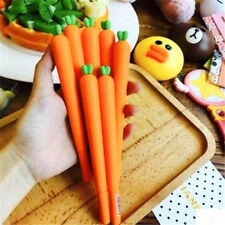 1PC Simulation Carrot Ballpoint Pen Creative Stationery Kid Students Awards ♫