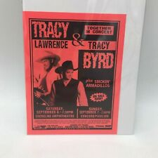 TRACY LAWRENCE AND TRACY BYRD CONCERT FLYER