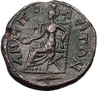 SEVERUS ALEXANDER 222AD Amphipolis Macedonia Tyche Ancient Roman Coin i55533