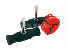 3Pc Windshield Removal Tools Car Wind Glass Remover Gripping Handles &Wire T0568