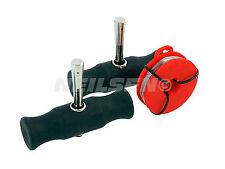 3Pc herramientas de eliminación de Parabrisas Coche Manijas De Agarre Removedor De Vidrio De Viento & Cable T0568