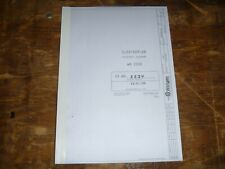 Wirtgen WR2000 Road Cold Asphalt Recycler Electrical Wiring Diagrams Manual