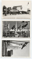 1939 New York World's Fair Set of 21 Realphoto Postcards [y1008]