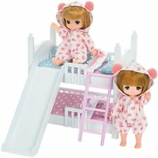 Takara Tomy Licca Doll Licca Doll Miki & Maki Bunk Bed Set Doll-not-included