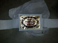 World Heavyweight Champion Vintage Belt Wrestling Mens Title Belt 1990s RARE