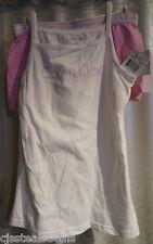 Calvin Klein Girls Butterflies Boy Shorts Spaghetti Top Shirt Set Medium 7/8