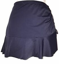 plus sz L/22 TS TAKING SHAPE Navy Swimwear Tahiti Ruffle Swim Skirt  NWT!