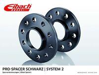 Eibach ABE Spurverbreiterung schwarz 20mm System 2 BMW E46 Compact (346K,01-05)