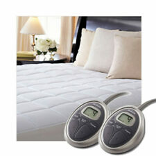 Sunbeam SelectTouch Premium Quilted Cotton Electric Heated Mattress Pad