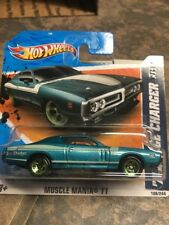 HOT WHEELS  '71 DODGE CHARGER  MUSCLE MANIA 11 SHORTCARD NEW