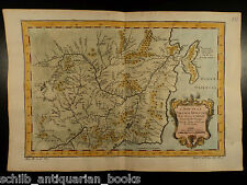 1750 Color Copper MAP of Oriental Russia Tartary CHINA Orient Asia 36cm X 24cm