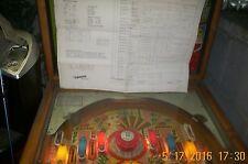 1969 Gottlieb Lariat Pinball Machine Schematic