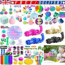 Pack Of 1-24  Fidget Toys Sensory Set Tools Bundle Hand Stress Relief Kids Adult