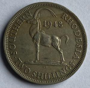 Southern Rhodesia 2 Shillings 1948 (KM#23)