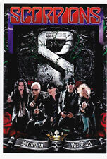 SCORPIONS carte postale n° ATHQ 202 STING IN THE TAIL