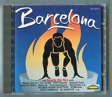 V.A. Barcelona CD-Sampler © 1992 Karussell 515 543-2 14-track-CD Latin Synth-pop