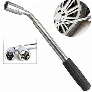 HEAVY DUTY Extendable Car Wheel Brace Socket Tyre Nut Wrench 17 19 21 23mm UK