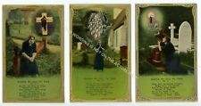 More details for (klh1410-525) nearer my good to thee, titanic 3 card set unused vg