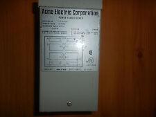 Acme Electric Corporation Power Transformer .250 KVA