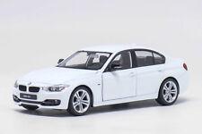 Welly 1:24 BMW F30 335i White Diecast Model Car Vehicle New in Box