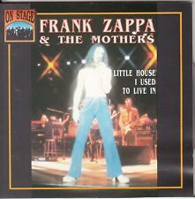 FRANK ZAPPA & The MOTHERS Little House I Used To Live In CD