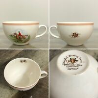 English Hunting Scene Ambassador Ware England Fondeville New York 1 Cup