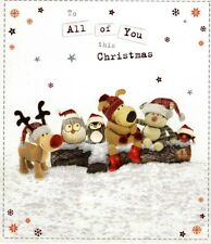 Boofle To All Of You Christmas Greeting Card Cute Range Greetings Cards