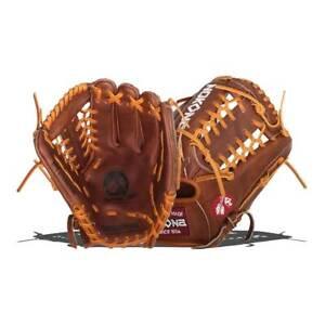 """2021 Nokona Classic Walnut Glove 11.5"""" W-1150M W-1150 Infield Baseball RHT"""