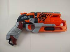 Nerf Zombie Strike HammerShot Blaster Gun Hammershot Foam Pistol Revolver Toy