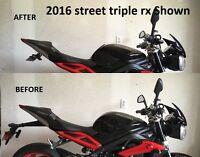 Triumph Daytona 675 Street Triple R RX RS S FENDER ELIMINATOR 2013 - 2020 2T/S