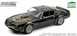 GREENLIGHT 19098 1977 PONTIAC FIREBIRD TRANS AM Starlite black model 1:18