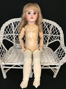 "Antique French Bisque Composition 20"" Bebe Doll ""SFBJ"" Paris"