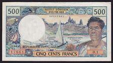 New Caledonia (Noumea) 500 Francs Banknote 1967-72 P-60a
