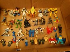 Mixed lot of Action Figures Kenner LFL star wars Lego mighty morphine tmnt etc