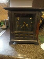 New ListingNew Haven Mission 1907 Mantel Clock no key.like is not working