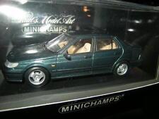 1:43 Minichamps SAAB 9-5 Saloon 1997 GREEN/VERDE N. 430170640 OVP
